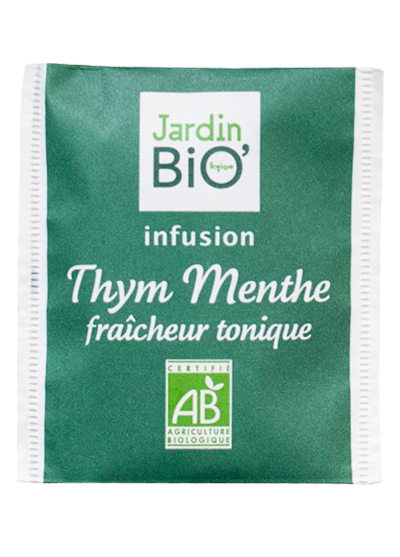 Thym menthe jardin bio la th box collector infusion for Jardin bio 2015