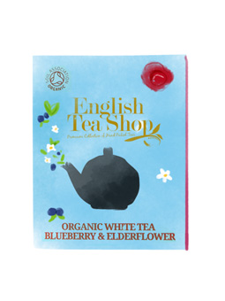 White tea, Blueberry and Elderflower