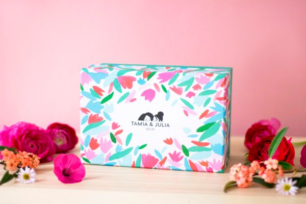 Coffret Flower Power - Bougie & Thés